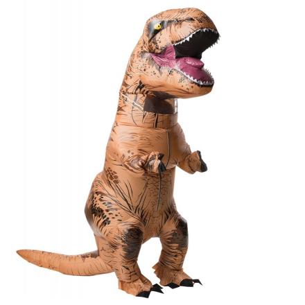 Jurassic World, Oppusteligt T-Rex Kostume Voksen One Size - CDON.COM