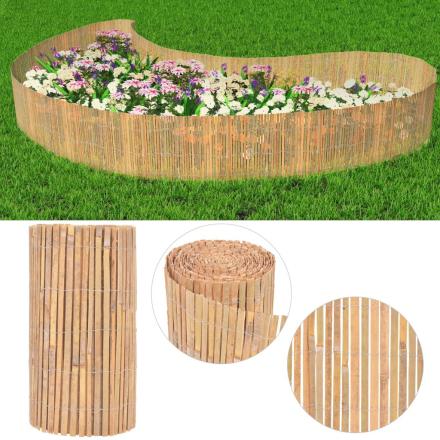 vidaXL havehegn bambus 1000 x 50 cm