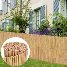 vidaXL Staket bambu 300x100 cm