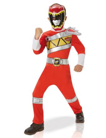 Klassisk röd Power Rangers dräkt