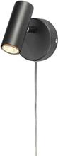 Cottex Vägglampa Spotlight Alpha Slim-Grafitgrå