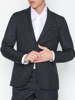 Oscar Jacobson Edgar Blazer Blazere & dresser Dark Grey