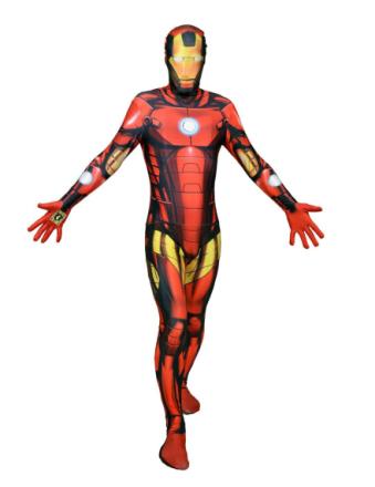 Kostume Morphsuits Zapper Iron Man voksen - Vegaoo.dk