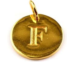Beloved Letter Gold F, ONESIZE