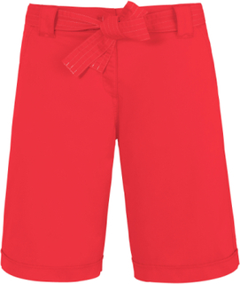 Bermudashorts Fra Brax Feel Good rød