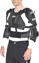 IXS Cleaver Jacket Herre black XS-S 2019 Bryst- og Ryggbeskyttere