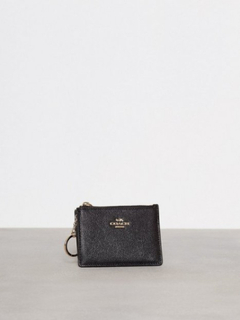 Coach Crossgrain Mini Id Skinny Black