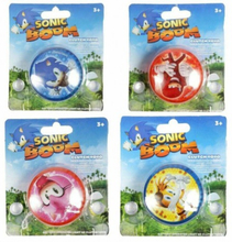 2-Pack Sonic The Hedgehog Sonic Boom Clutch YoYo JoJo Med Ljus