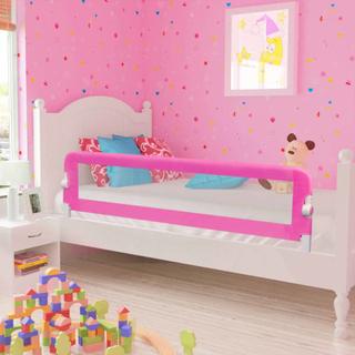 vidaXL sengehest til børn 2 stk. 150 x 42 cm pink