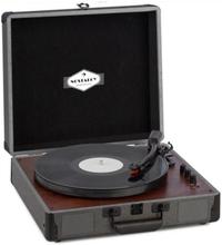 Billy Bob skivspelare med BT stereohögtalare Bluetooth svart