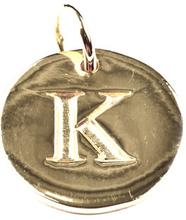 Beloved Letter Silver K, ONESIZE