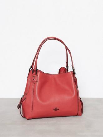 Coach Edie 31 Shoulder Bag Red