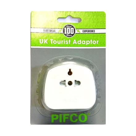 Pifco PIF2039 transportabel reise 2 Pin & 3 Pin adapter for besøken...