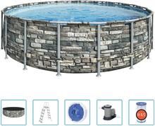 Bestway Power Steel swimmingpool 549x132 cm