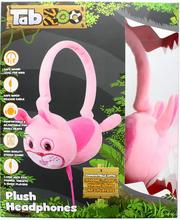 TabZoo Plush Rabbit Childrens Wired Headphones
