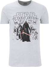 Star Wars Men's The First Order T-Shirt - Grey - S