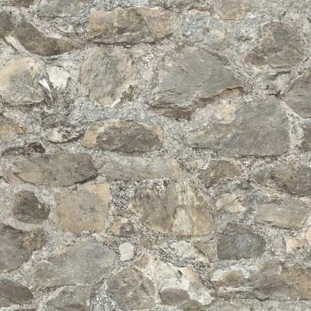 RoomMates vægklistermærke patineret sten grå RMK9096WP