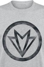 Avengers - Falcon Symbol -T-skjorte - gråmelert