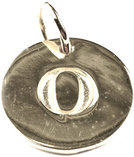 Beloved Letter Silver O, ONESIZE