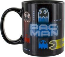 Pac Man Neon Tasse mit Thermo-Effekt