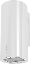 Vägghängd cylinder köksfläkt BALTIC 40 cm vit / svart/ rostfritt stål - vit - 40 cm
