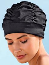 Elegante Badehaube Fashy schwarz