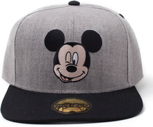 Disney Mickey Mouse Melange Snapback - Black