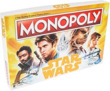 Hasbro Star Wars Han Solo Monopoly