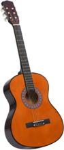 """Klassisk gitar for nybegynnere med veske 3/4 36"""" - mørkebrun"""