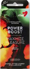 RFSU Power Boost: Kondomer, 8-pack