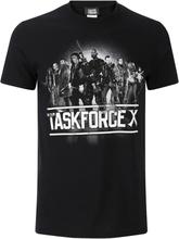 DC Comics Men's Suicide Squad Taskforce X T-Shirt - Black - S