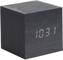Väckarklocka - Karlsson Mini Cube Black Veneer