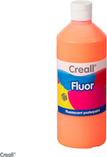 Orange Fluorescent paint, 500 ml