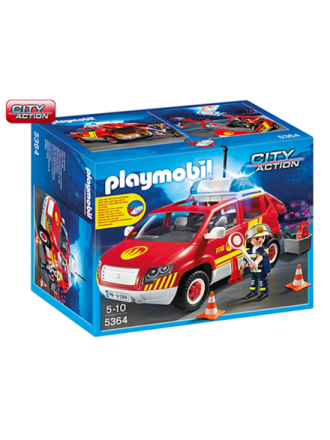 - City Action - Fire Chief´s Car with Lights - 5364 - Proshop