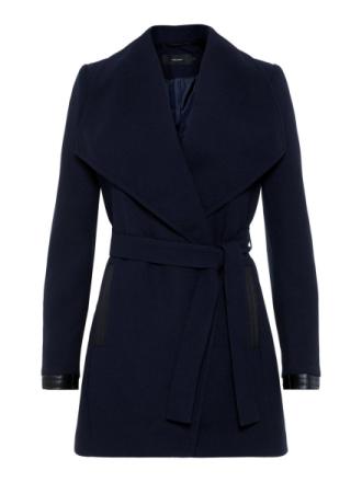 VERO MODA Long Structured Jacket Women Blue