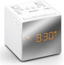Sony ICFC1T Snygg klockradio med inbyggt batteri & dubbla alarm