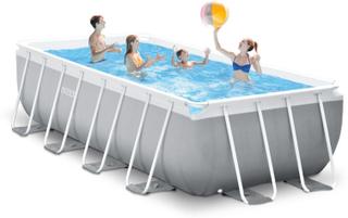 Pool Prism Frame 10.874L 488x2 - Intex Pool og badeutstyr 26792