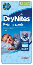 DryNites Boy Pyjama Pants 3-5 Years 10 kpl