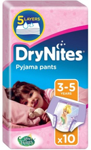 DryNites Girl Pyjama Pants 3-5 Years 10 kpl