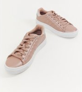 K Swiss court frasco trainers in pink and white - Pink
