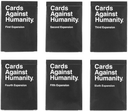 eStore Cards Against Humanity Expansion Set (1-6)