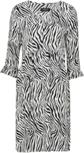 Klänning Oline Zebra Dress