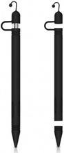 Silikonhölje Muffelskydd till Apple Pencil - Svart