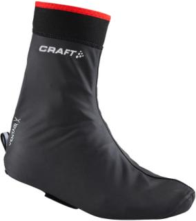 Craft Rain Bootie Black/Red Skoöverdrag - Utförsäljning