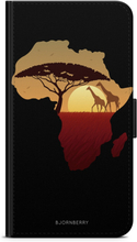 Samsung Galaxy A3 (2016) Plånboksfodral - Afrika Svart
