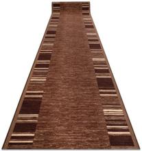 Löpare anti-halk ADAGIO gum brun, 90x100 cm