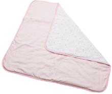 DIMO-TEX Pehmeät vilttipisteet ja vaaleanpunaiset raidat - roosa/pinkki