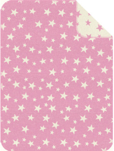 s.OLIVER Viltti, Tähdet, vaaleanpunainen, 75 x 100 cm - roosa/pinkki