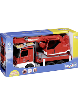 MB Arocs Fire engine crane truck with Light & Soun