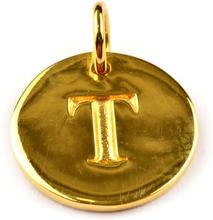 Beloved Letter Gold T, ONESIZE